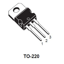Triac TO810 NH, 800V, 8.0A, TO220